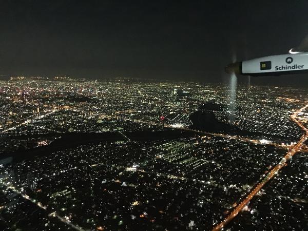 Une météo défavorable oblige Solar Impulse à faire escale à Nagoya