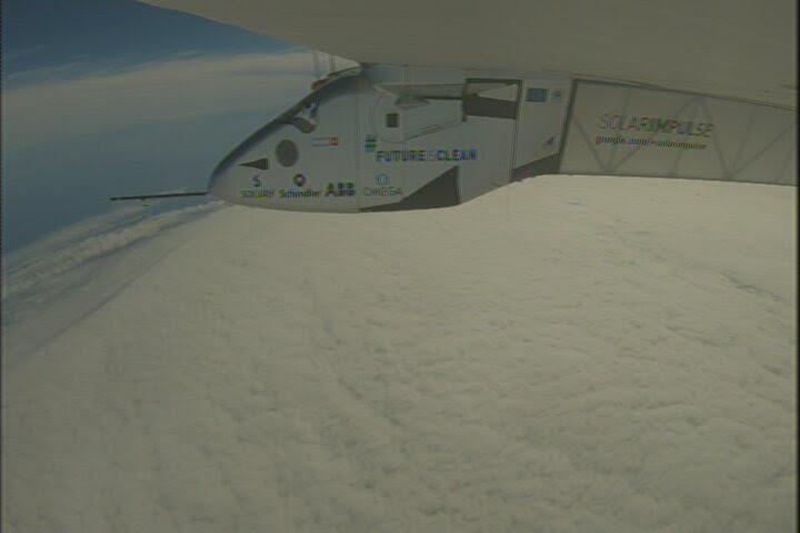 Solar Impulse en pleine traversée du Pacifique de Nagoya à Hawaï