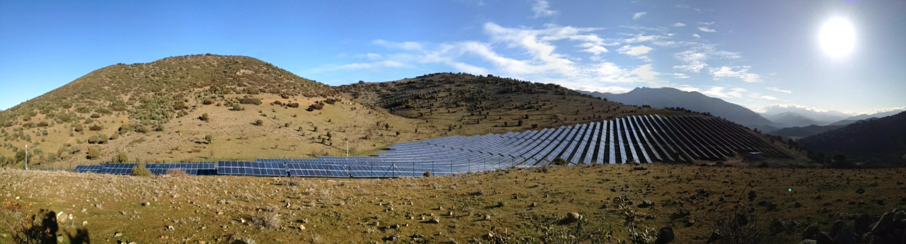 Deux centrales PV s'équipent d'une solution de stockage en Corse
