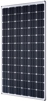 Panneaux photovoltaïques avec 72 cellules solaires bifaces