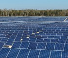 Centrale photovoltaïque de 4,7 MWc à trackers solaires Exotrack HZ située à Vallérargues (Gard). Photo: Exosun