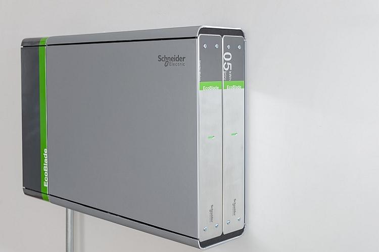 Schneider Electric lance un système modulaire de stockage d'énergie