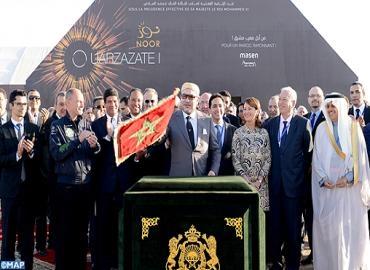 Le Maroc connecte les 160 MW de la 1ère tranche du site solaire d'Ouarzazate