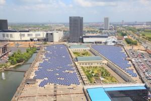 Une toiture PV commerciale de 3,6 MW en Chine.
