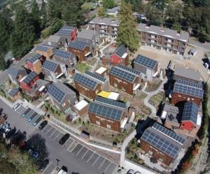 Une centrale photovoltaïque multi-résidentielle à Bainbridge, aux Etats-Unis