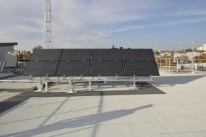 Un centre d'entretien sur la future rocade L2 de Marseille équipé de panneaux DualSun