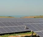 Centrale PV de 5 MWc réalisée en 2011 à Veules-les-Roses, près de Rouen.