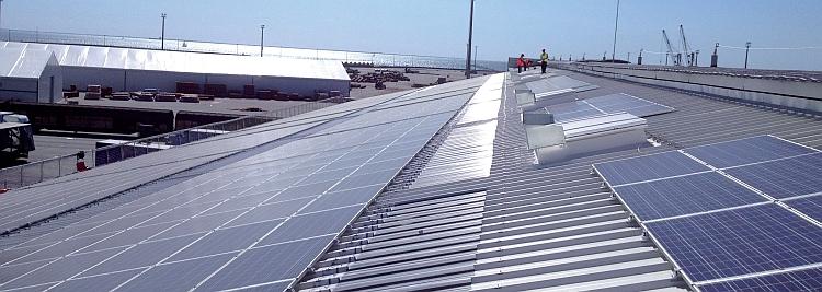 Le Port Atlantique de La Rochelle se met au solaire
