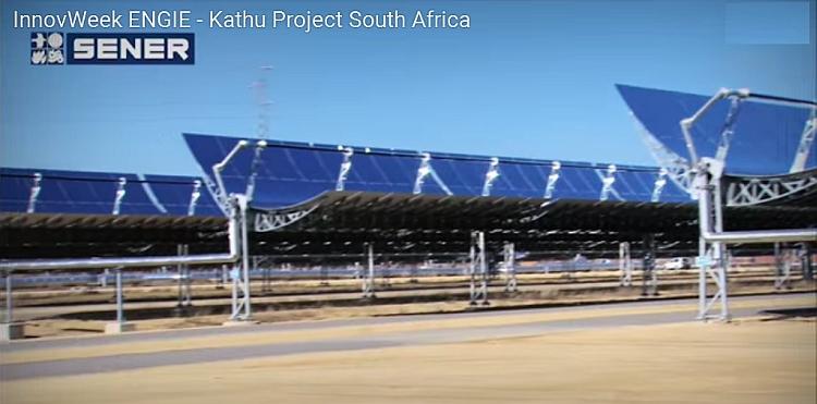 ENGIE démarre la construction d'une centrale solaire CSP de 100 MW en Afrique du Sud