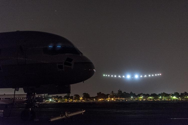Solar Impulse 2 survole les États-Unis