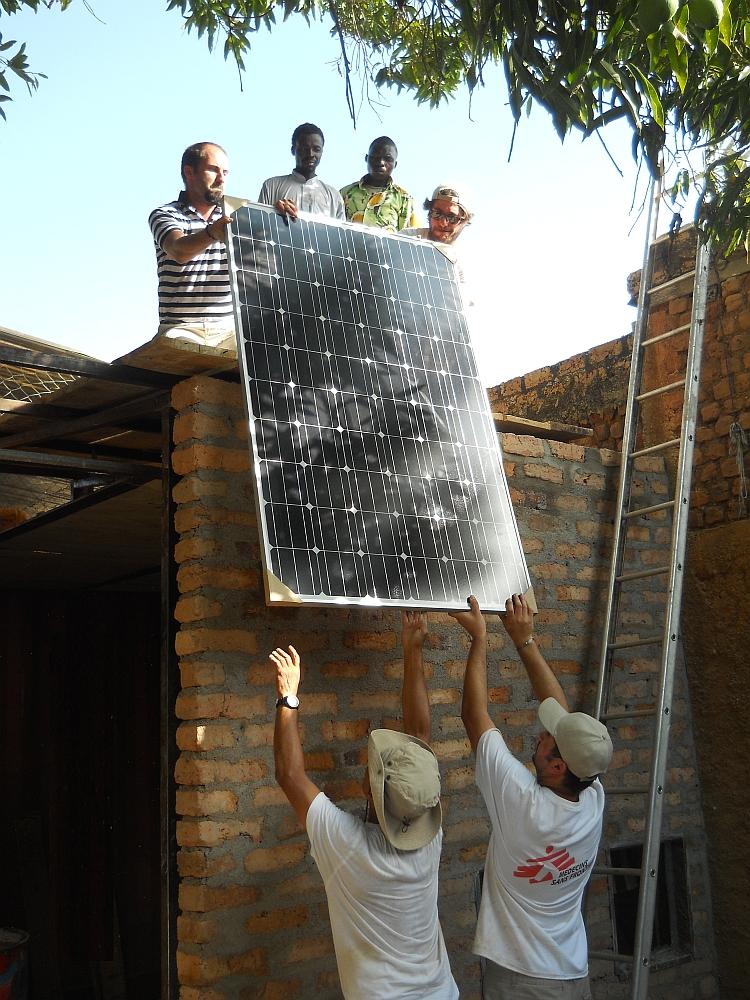 MSF et Synergie Solaire, partenaires pour la transition énergétique dans l'humanitaire