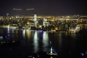 Solar Impulse 2 au-dessus de Manhattan