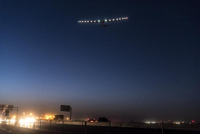 L'avion solaire Solar Impulse 2 complète son tour du monde