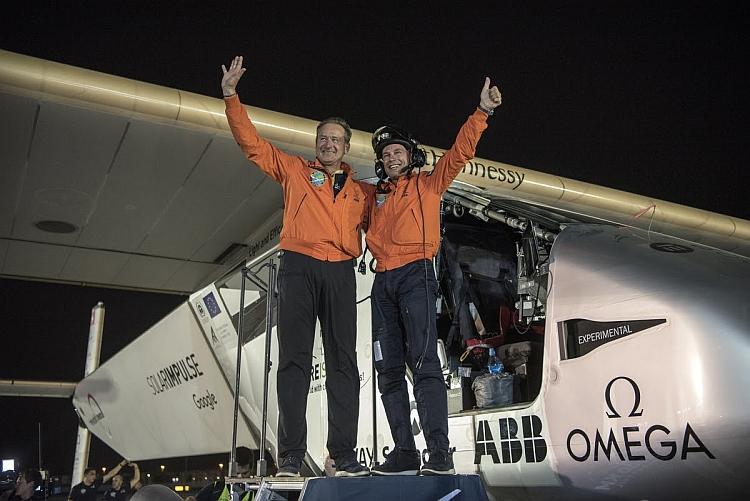 L'avion solaire Solar Impulse 2 a bouclé son tour du monde
