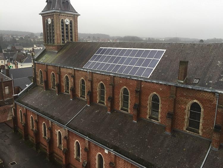 Les diocèses français se convertissent au solaire