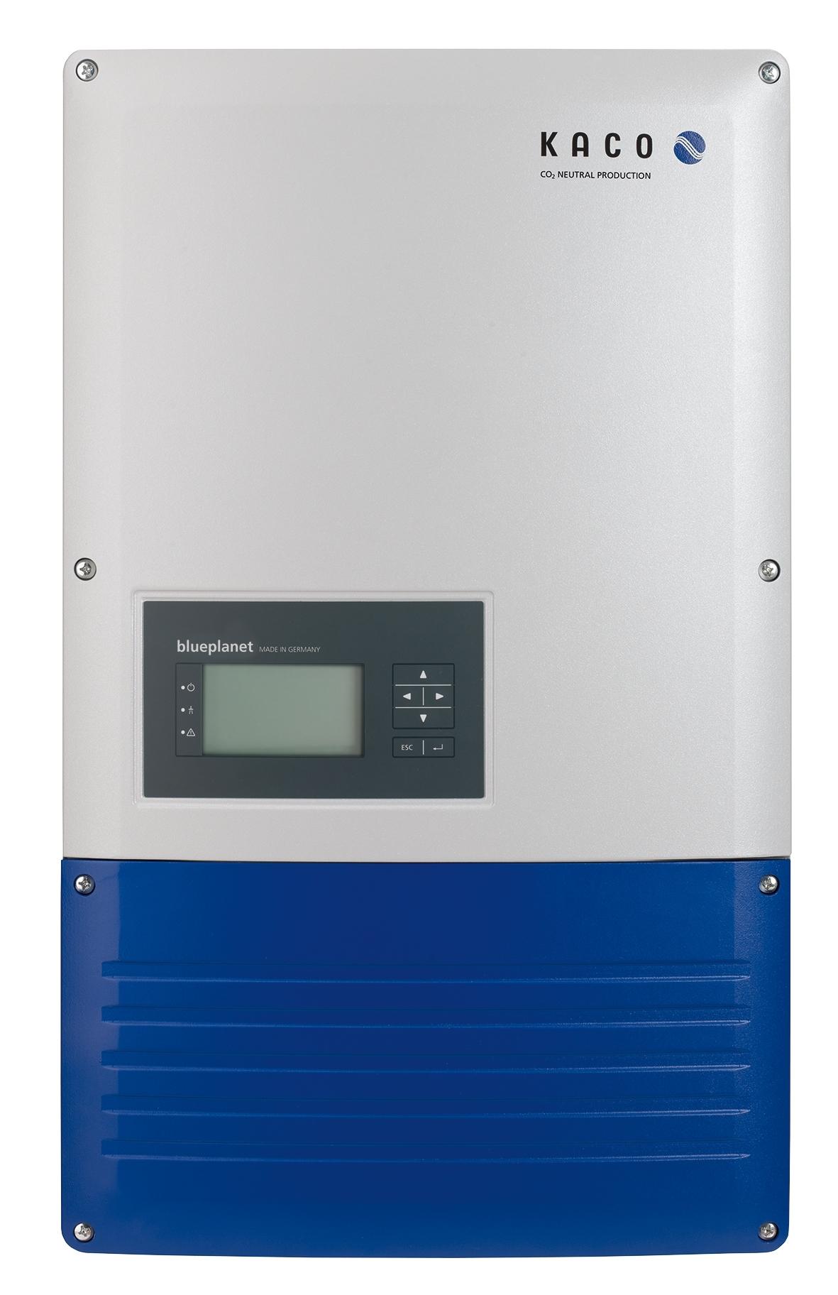 Kaco étend son offre d'onduleurs triphasés 8,6 à 20 kW