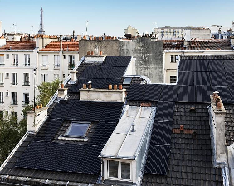 Autoconsommation: 15 kWc de PV sur un immeuble au cœur de Paris