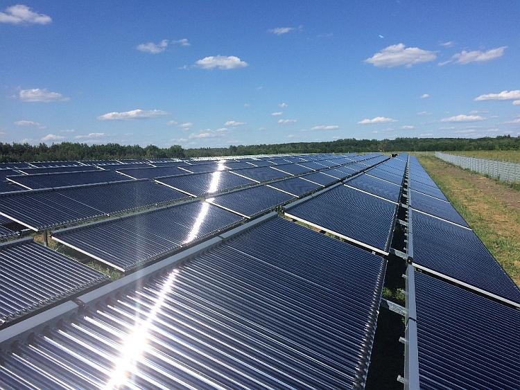 L'Allemagne se dote d'une centrale solaire thermique emblématique