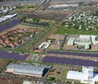 Centrale photovoltaïque de 9 MWc avec stockage à La Réunion. Photo : Akuo Energy