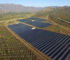 La centrale PV Santa Julia de 3,6MW développée à Petorca, dans la région de Valparaíso (Chili) est équipée de trackers solaires du groupe Clavijo.