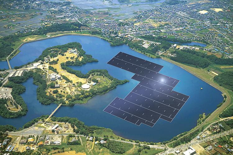Le solaire PV flottant a le vent en poupe