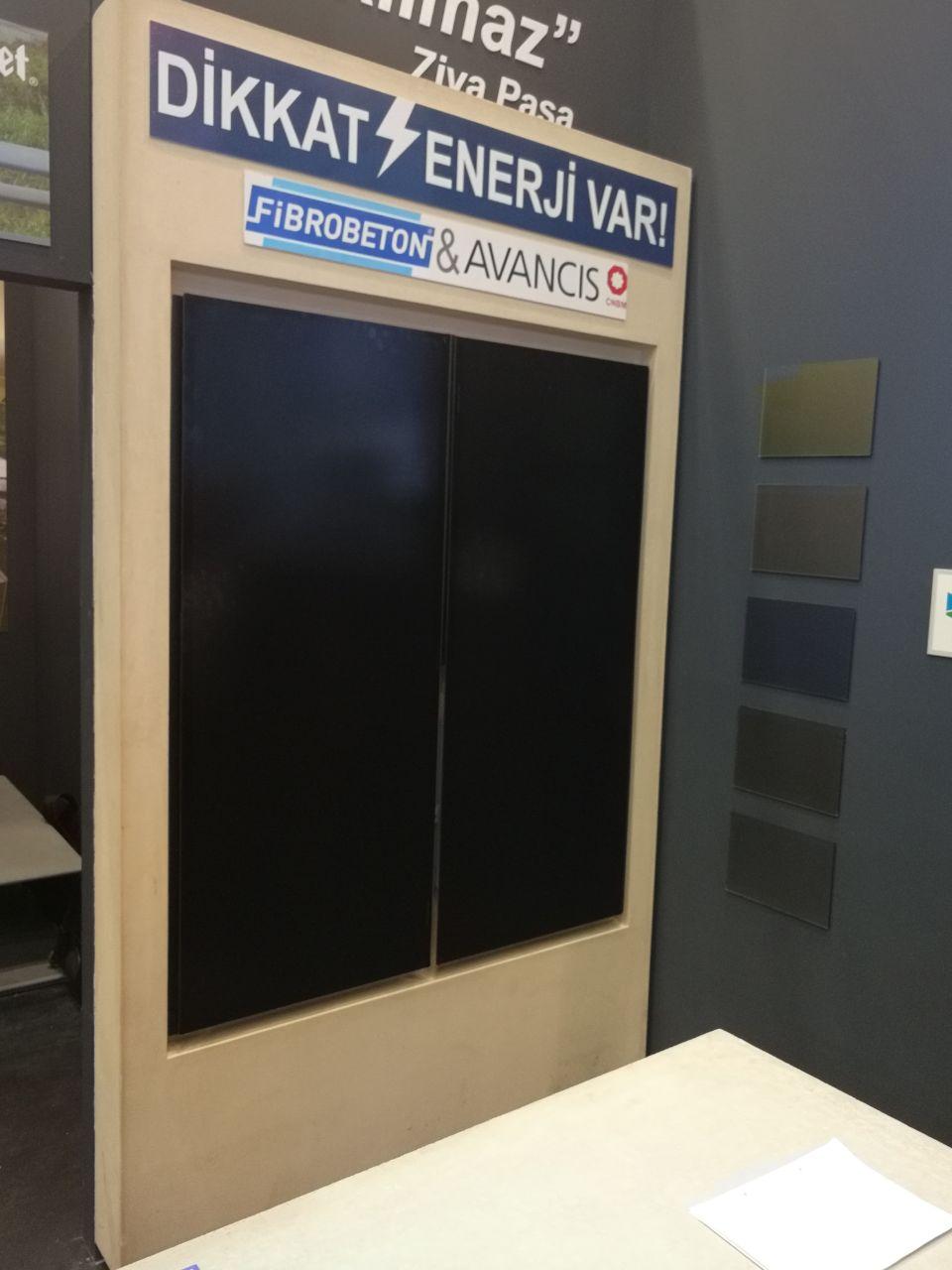 PV à couches minces : Avancis s'allie à Fibrobeton pour les façades solaires