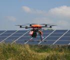 Contrôle de la plus grande centrale PV au sol d'Île-de-France à Sourdun, près de Provins, au moyen de drones par Bouygues Energies & Services