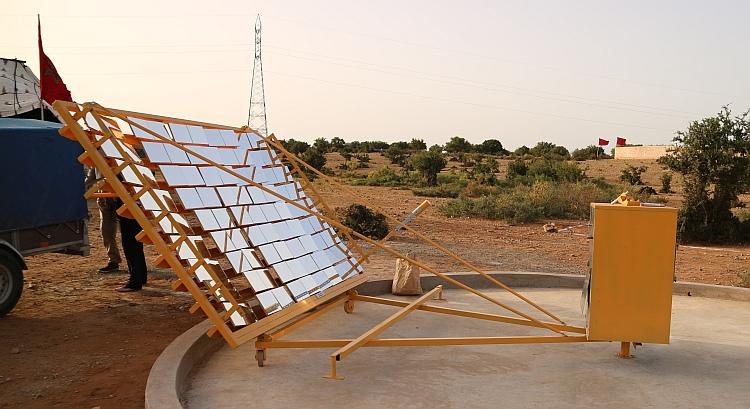 L'énergie solaire vient au secours d'une filière argan durable et éco-responsable au Maroc