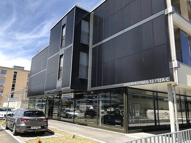 Avancis réalise une façade solaire CIGS pour un immeuble en Suisse