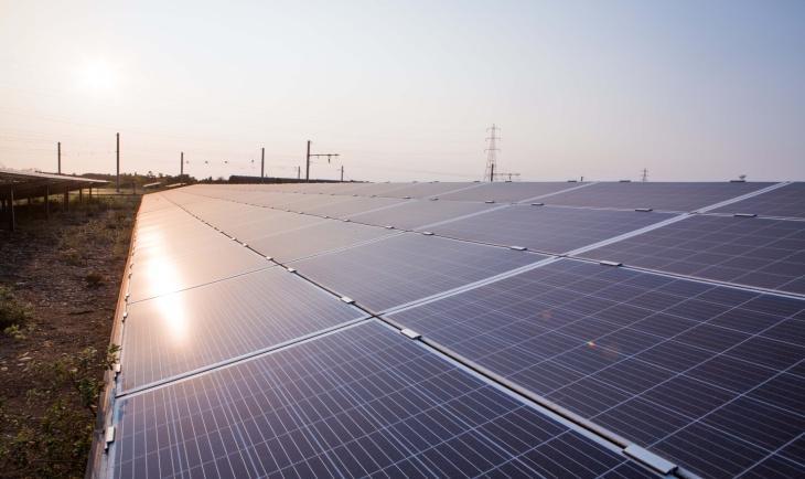 Une centrale PV de 12 MWc est opérationnelle à Fos-sur-Mer