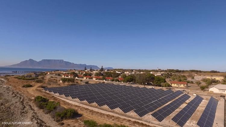 Une solution microgrid-PV-stockage met Robben Island sur la voie de l'autonomie électrique