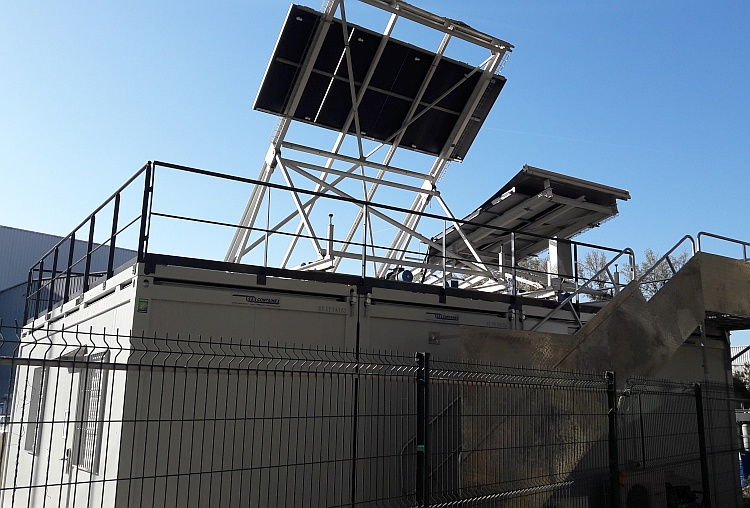 Solaire thermique : la plateforme d'essais de Belenos transférée à Villeurbanne