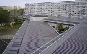 pv organique une toiture de 22 5 kwc r alis e en france l 39 echo du solaire. Black Bedroom Furniture Sets. Home Design Ideas
