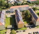 L'Allemand Wirsol a déjà réalisé en 2016 des toitures photovoltaïques d'une puissance cumulée de plus de 650 kWc pour le compte de la Baugenossenschaft Mosbach (une coopérative de construction), avec une production d'électricité destinée aux locataires.