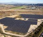 La centrale photovoltaïque de 3,5 MWc conçue et réalisée par Générale du Solaire à Pujaut (Gard) en 2015.
