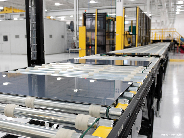 Modules PV CdTe : First Solar construit une usine de 1,2 GW dans l'Ohio