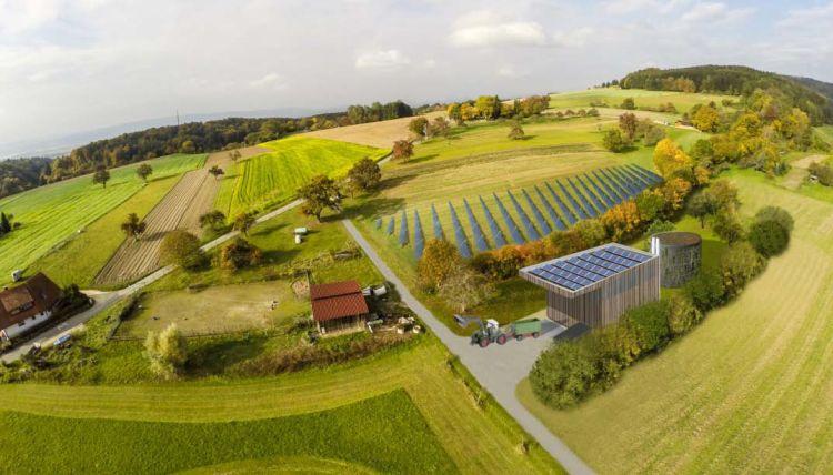 Réseau de chaleur: 1100 m2 de capteurs solaires couvrent 20% des besoins