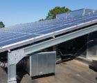 Des panneaux Cogen'Air sur le toit du Lycée de la Propreté de l'INHNI (33)