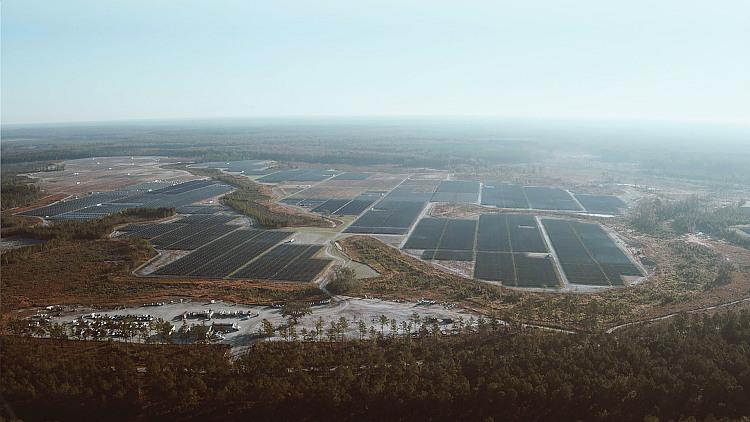 Solvay se convertit à l'énergie solaire aux États-Unis
