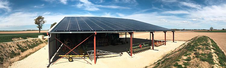 L'Earl La Cantinette s'équipe de 100 kWc de PV