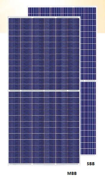Des panneaux PVde 405 Wc pour les grandes centrales solaires