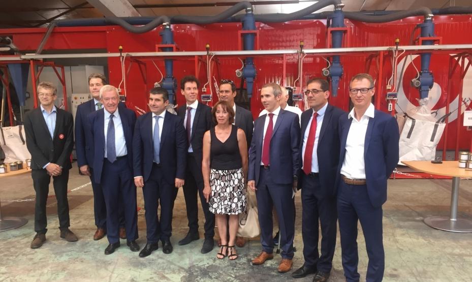 Veolia inaugure la première usine de recyclage de panneaux photovoltaïques en Europe