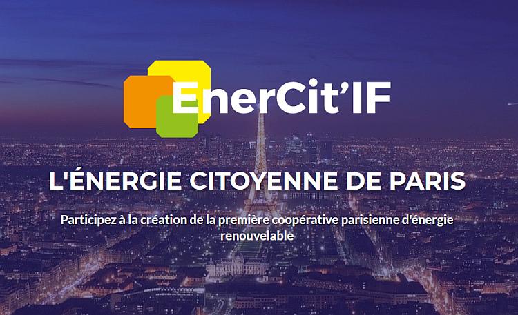 EnerCit'IF : une coopérative citoyenne pour le PV voit le jour à Paris