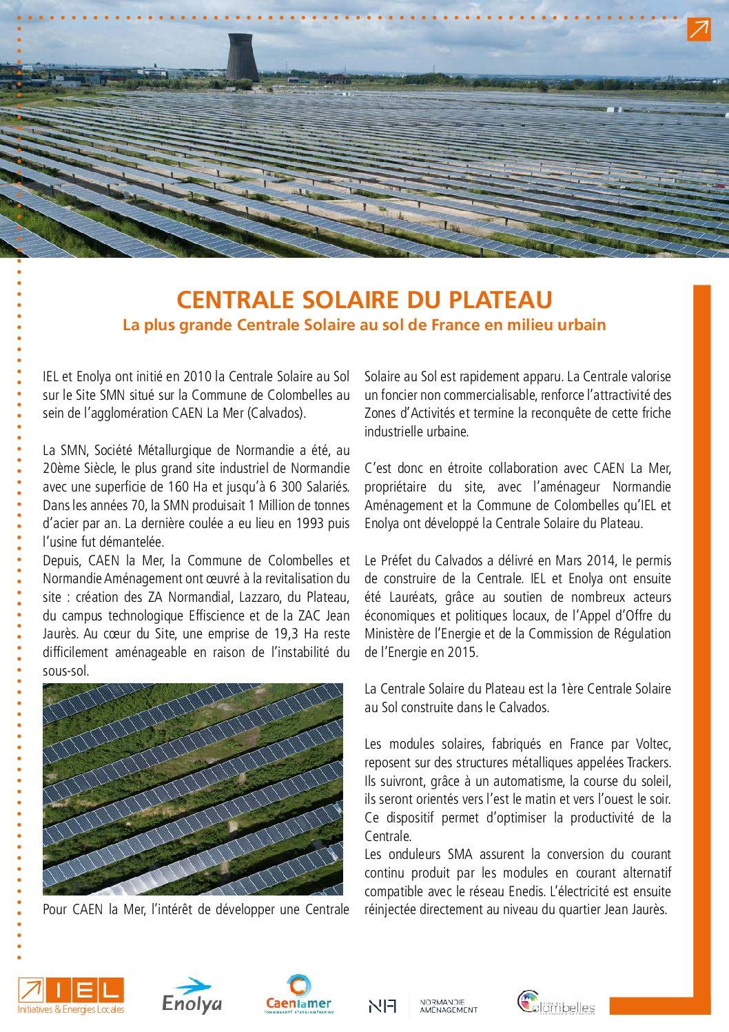 La plus grande centrale PV au sol de France en milieu urbain entre en service dans le Calvados