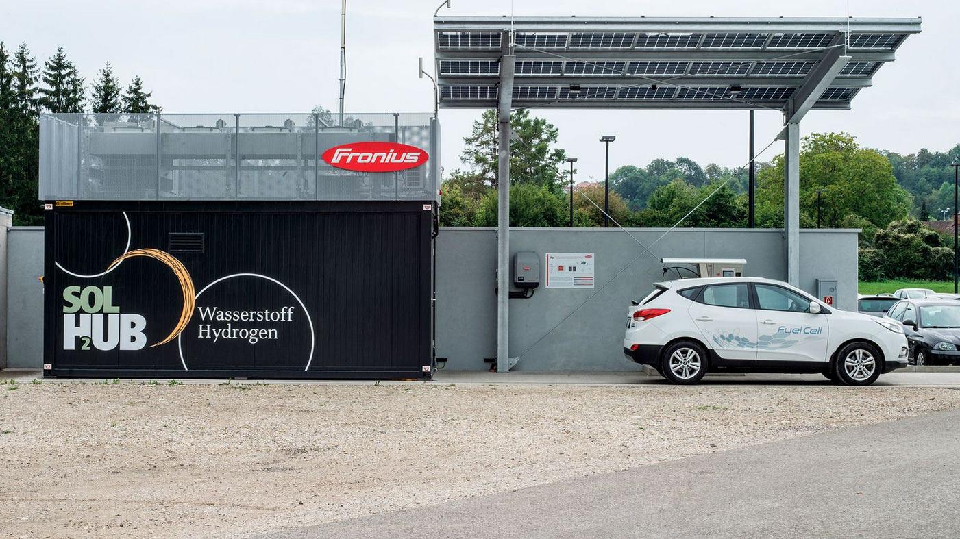 Fronius inaugure une station hydrogène alimentée au solaire