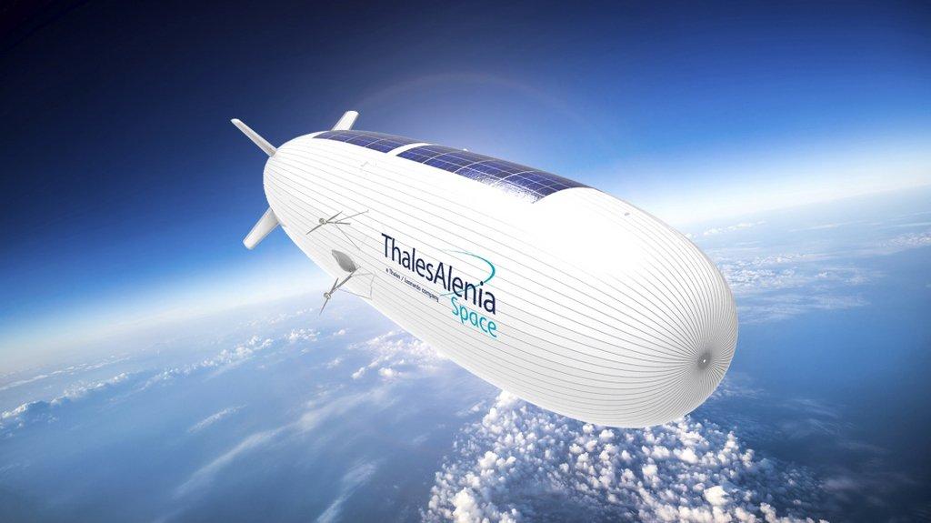 Projet Stratobus: les modules PV de Thales Alenia Space validés