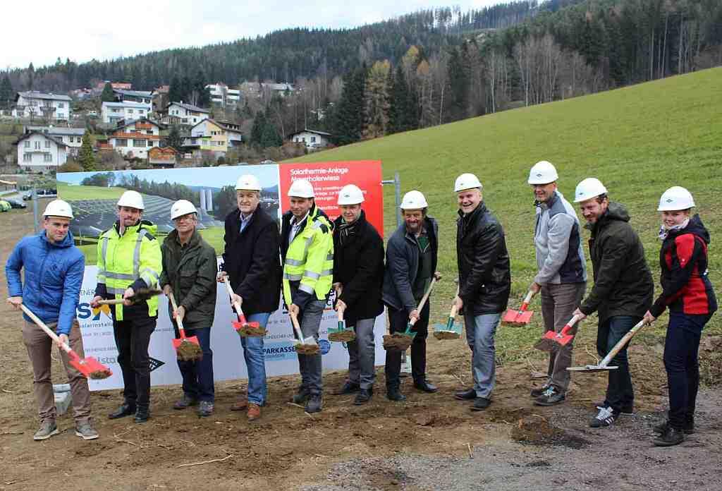 Chaleur renouvelable: 5000 m2 de capteurs solaires pour 275 logements en Styrie
