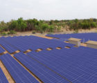 La centrale photovoltaïque de 50 MWc en construction à Kita au Mali (Photo : Akuo Energy)