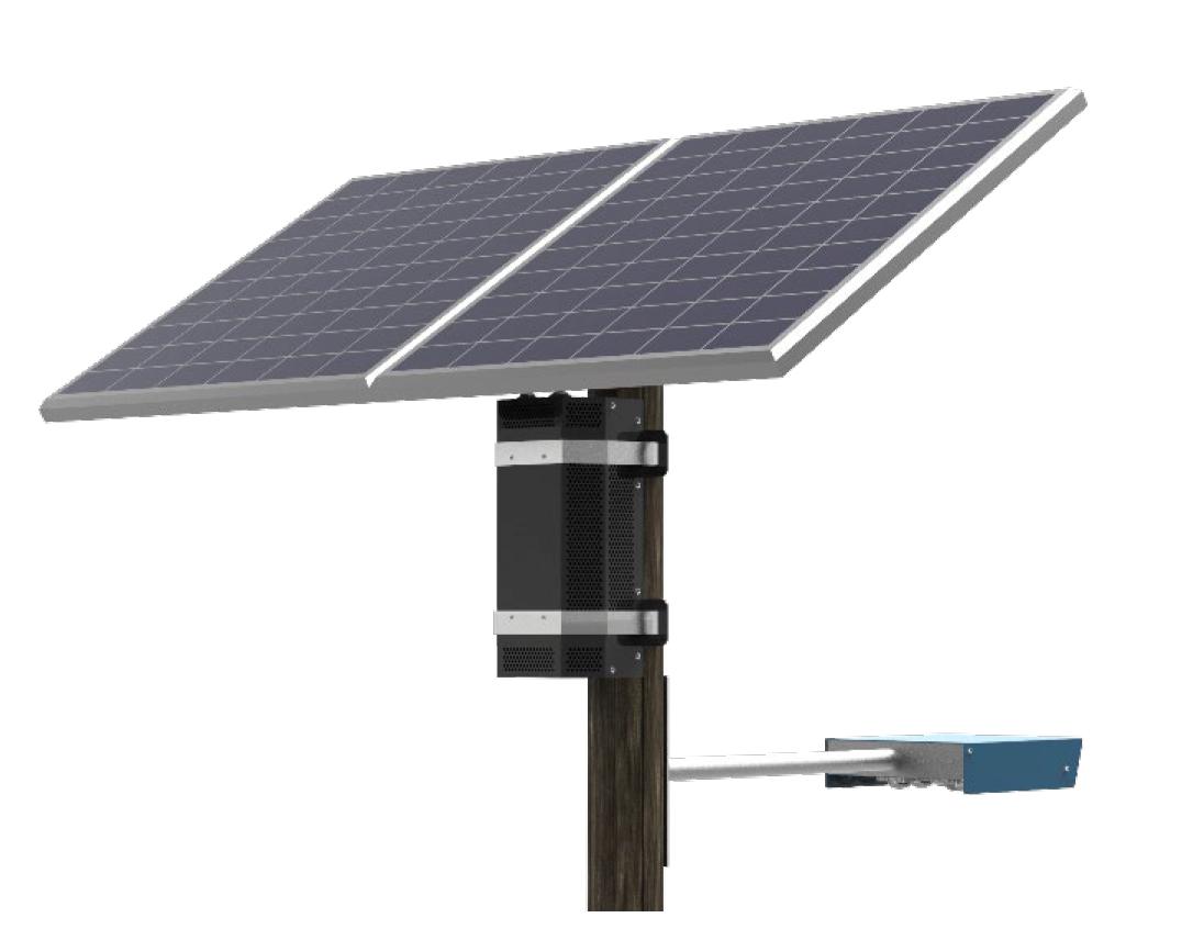 Des kits d'éclairage solaire fonctionnent jusqu'à 6 nuits sans recharge