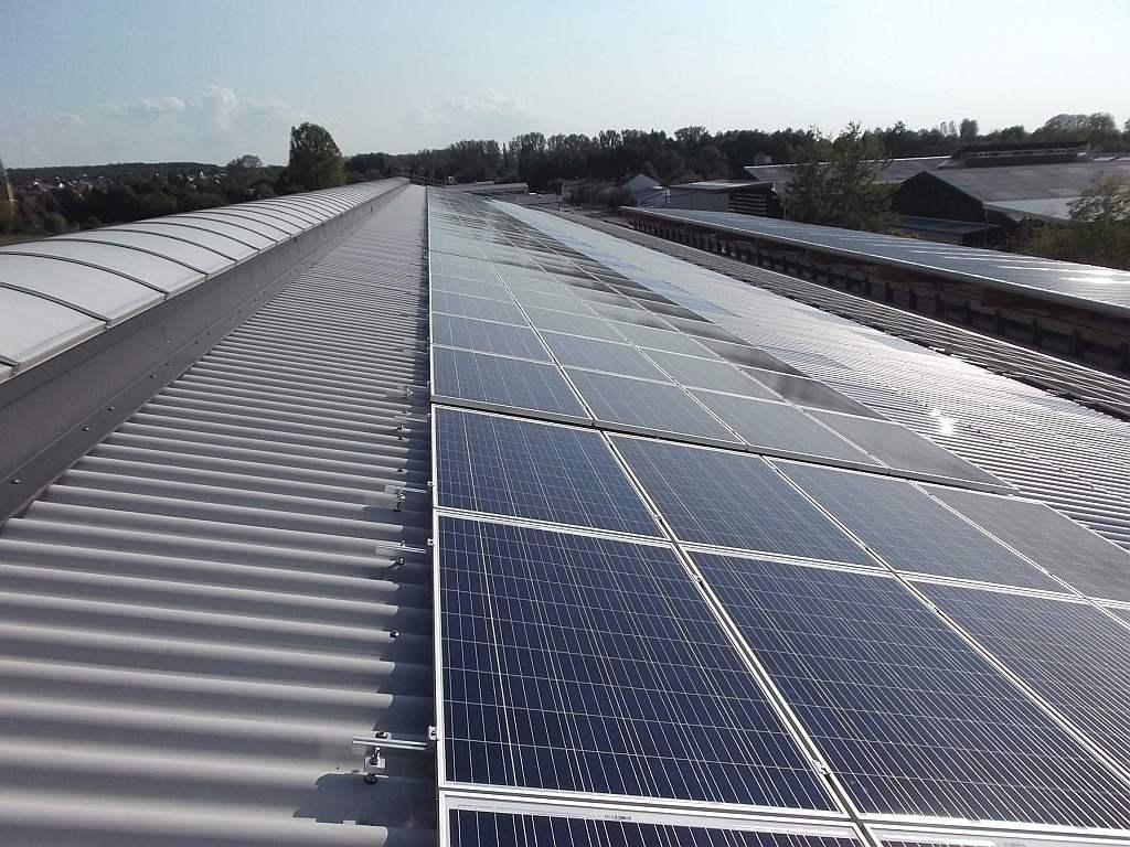 Wirsol réalise une toiture PV de 250 kWc associée à 134 kWh de stockage